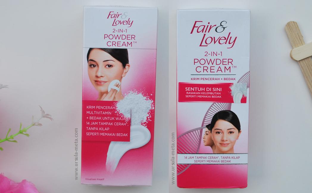 gambar review ke-3 untuk Fair & Lovely 2 in 1 Powder Cream