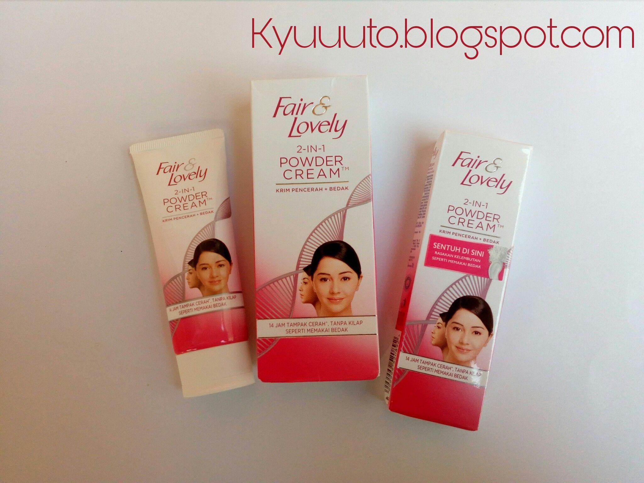 gambar review ke-6 untuk Fair & Lovely 2 in 1 Powder Cream