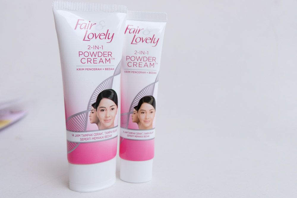 gambar review ke-12 untuk Fair & Lovely 2 in 1 Powder Cream