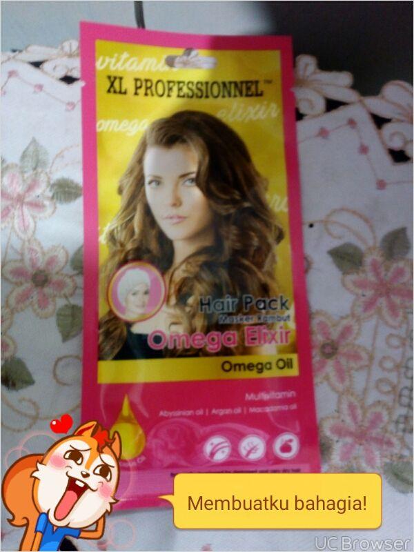 gambar review ke-1 untuk XL Professionnel Hair Pack Omega Elixir