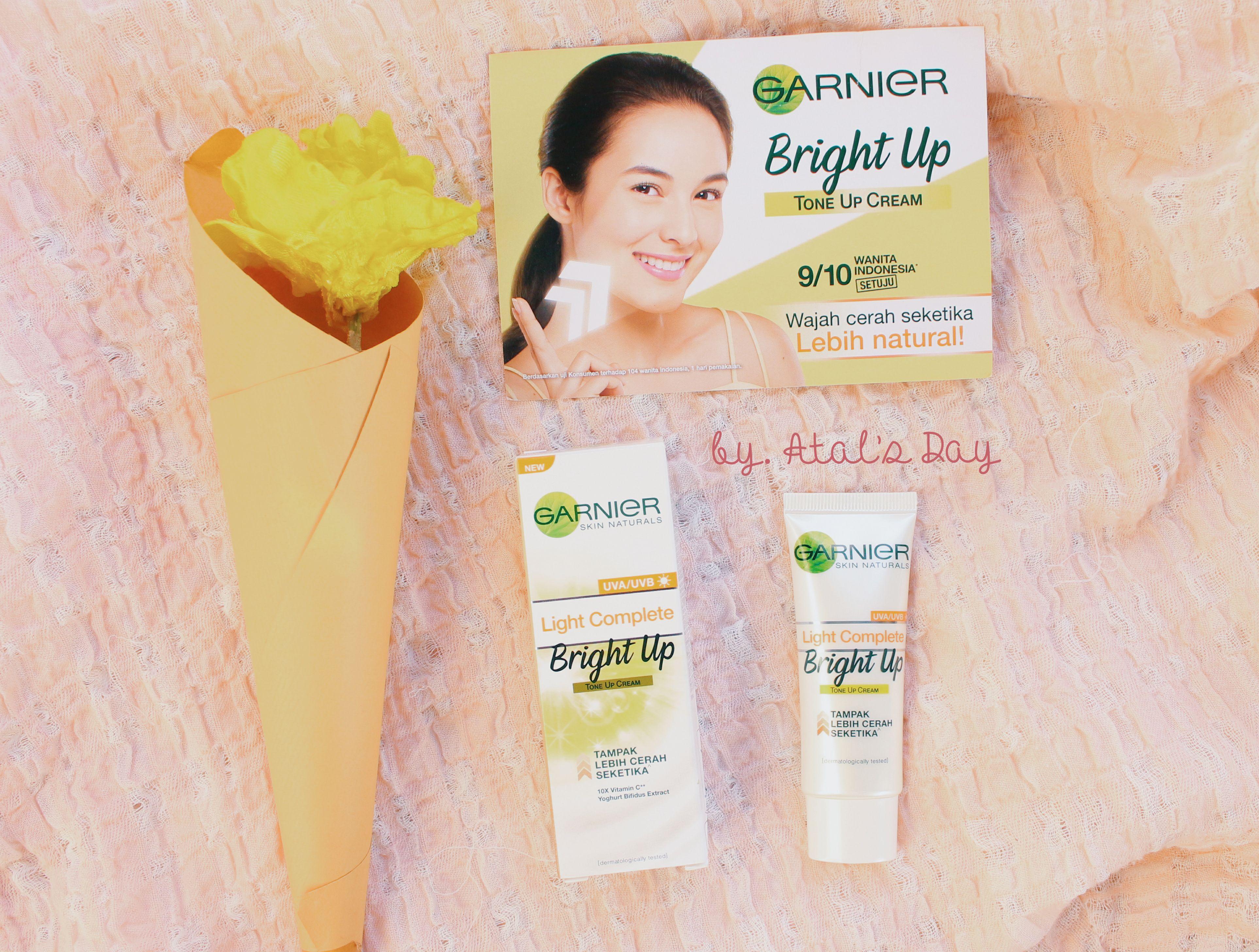gambar review ke-8 untuk Garnier Light Complete Bright Up Tone Up Cream