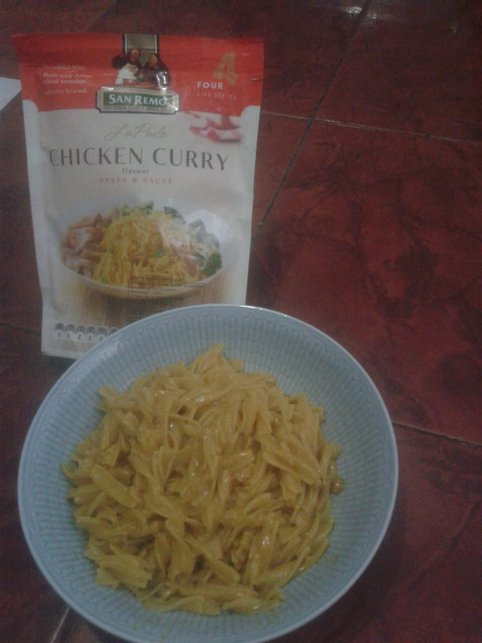 San Remo La Pasta - Chicken Curry