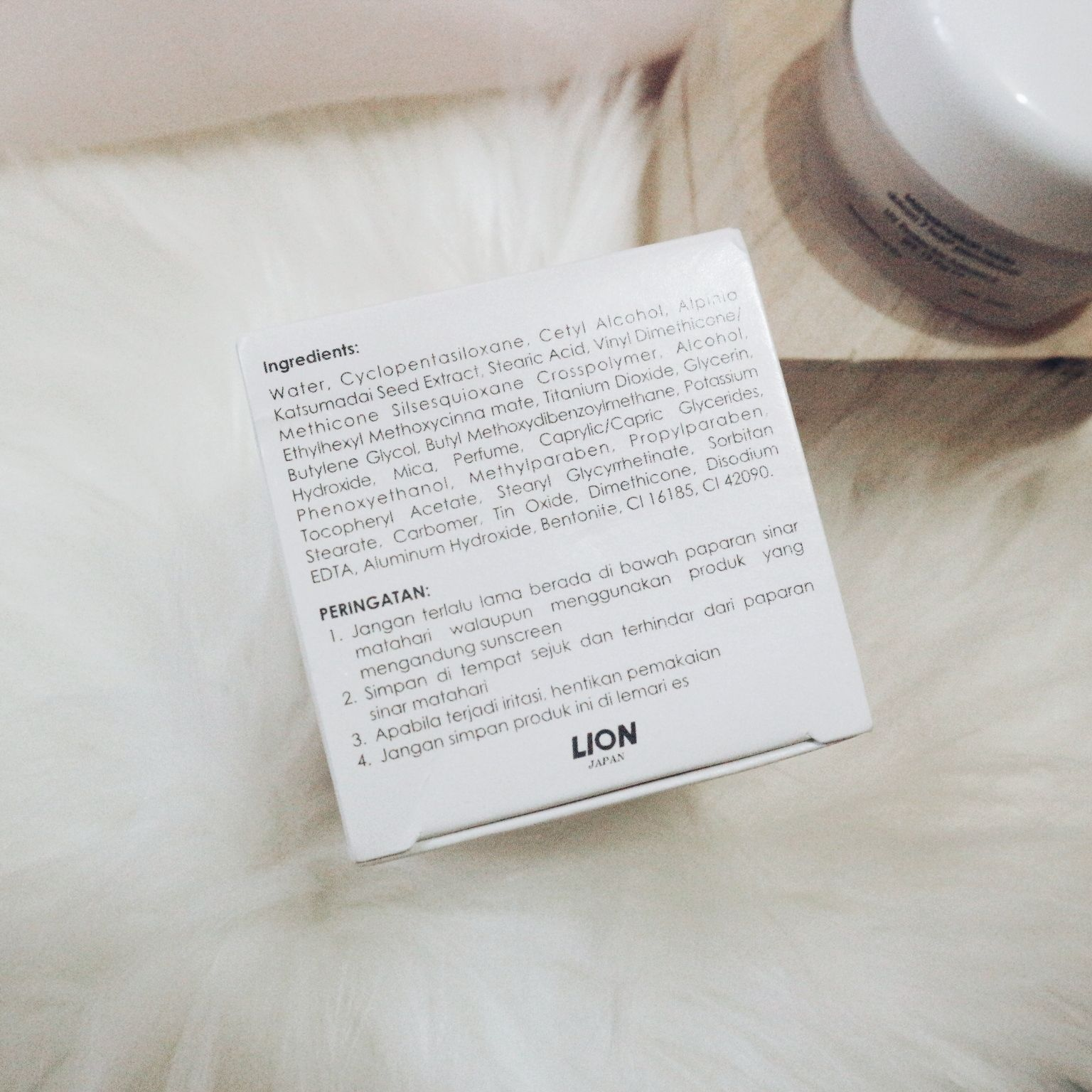gambar review ke-3 untuk Poise Luminous White - Whitening Day Cream