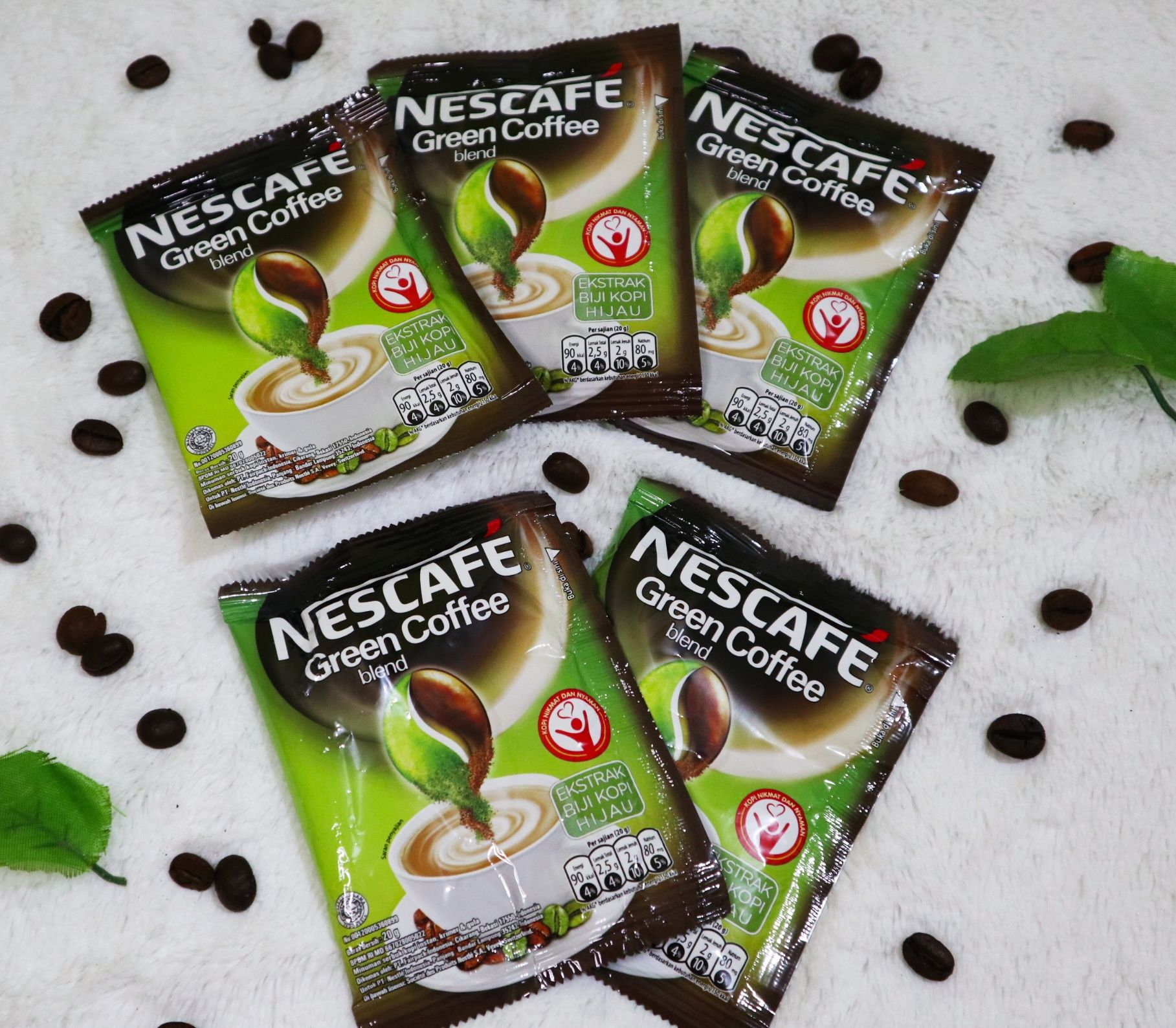 Nescafe Green Coffee Blend