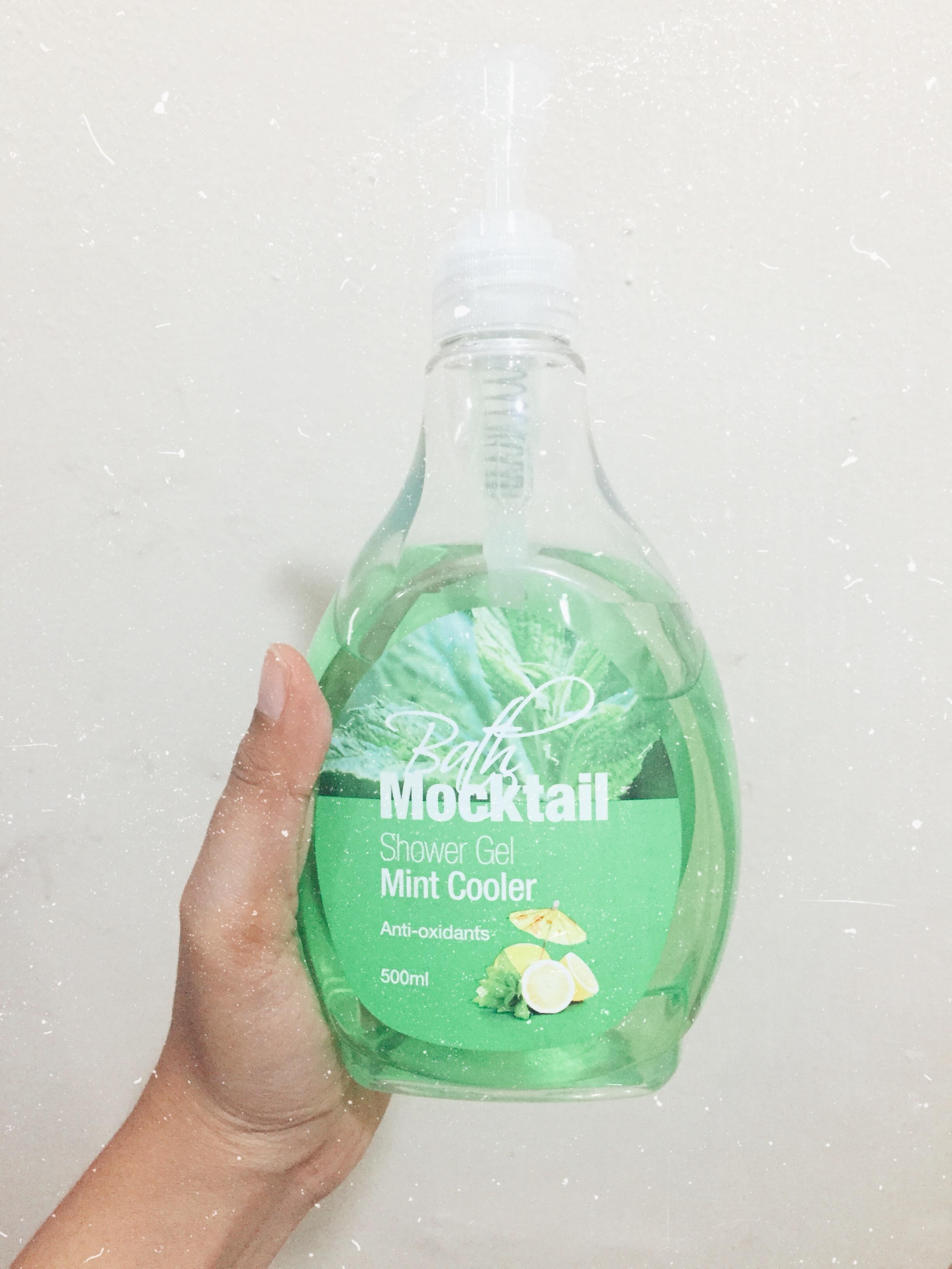 image review BATH MOCKTAIL Shower Gel Mint Cooler