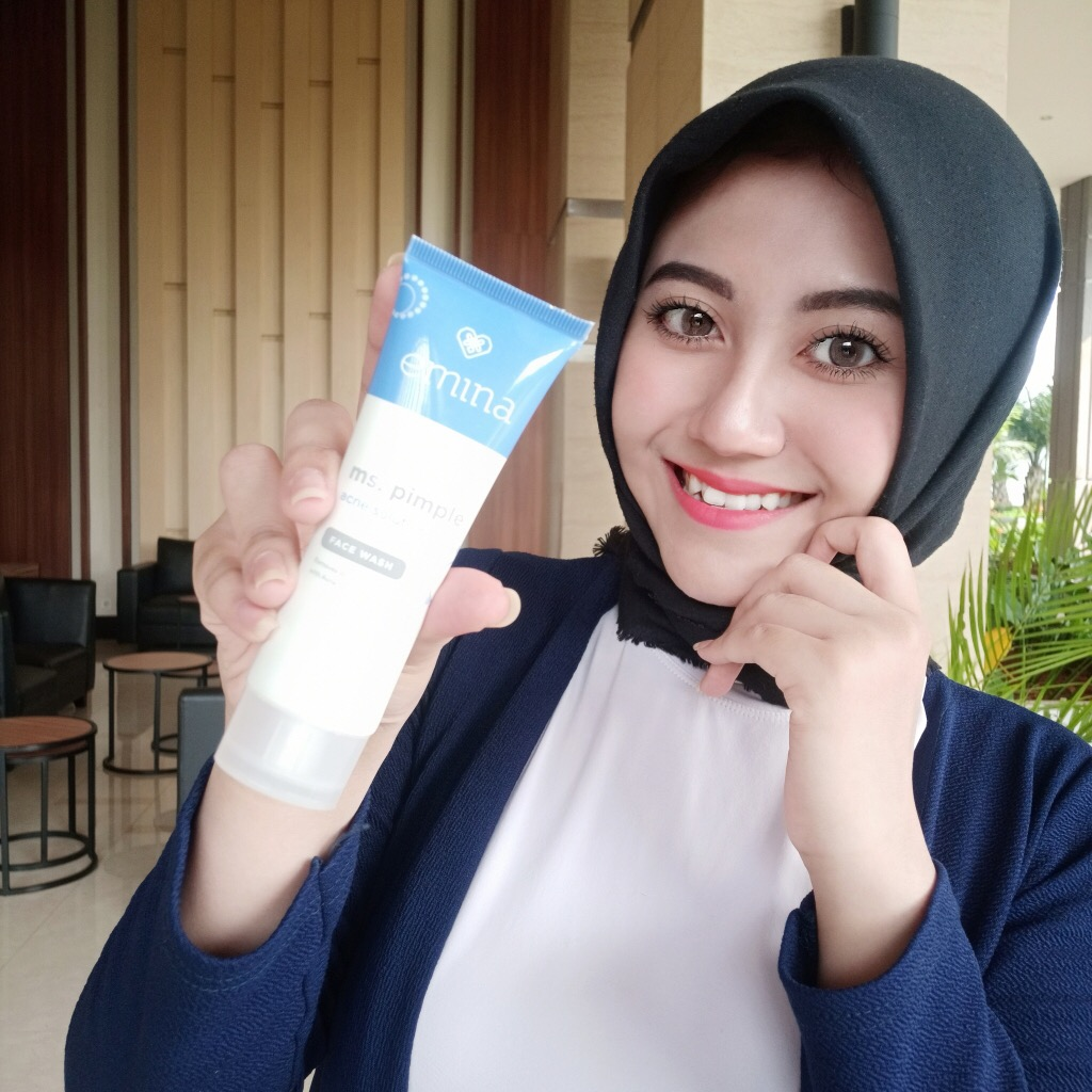 image review Emina Ms. Pimple Face Wash