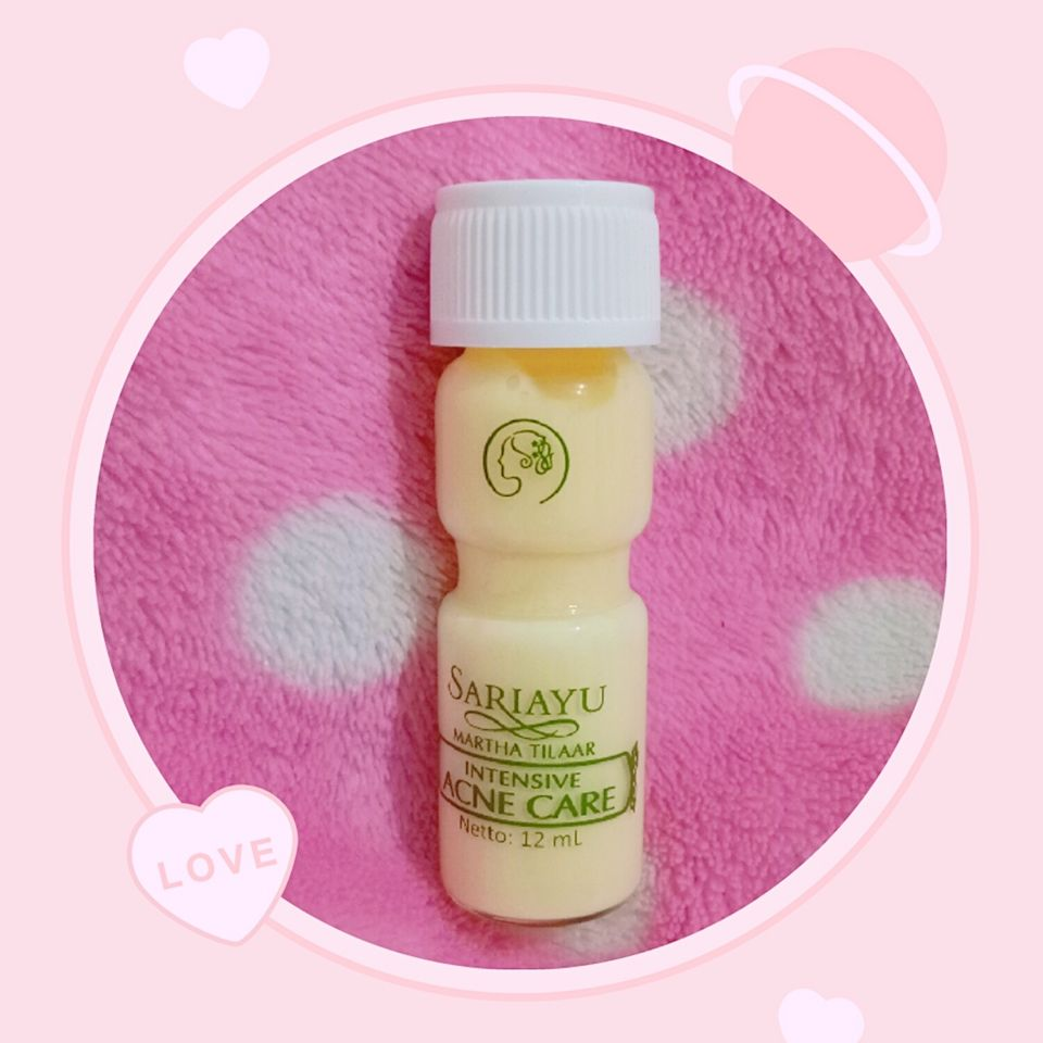 image review Sariayu Intensive Acne Care