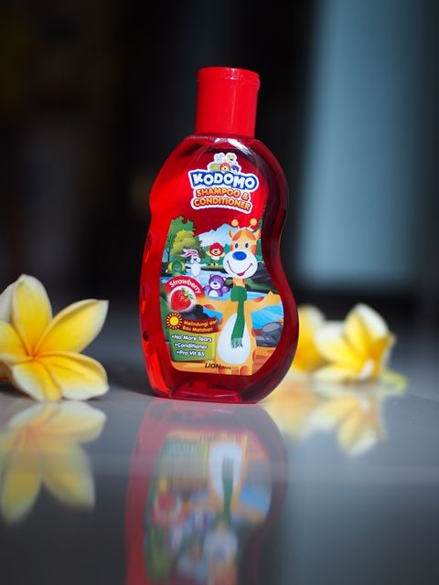 image review Kodomo Shampoo Gel Strawberry