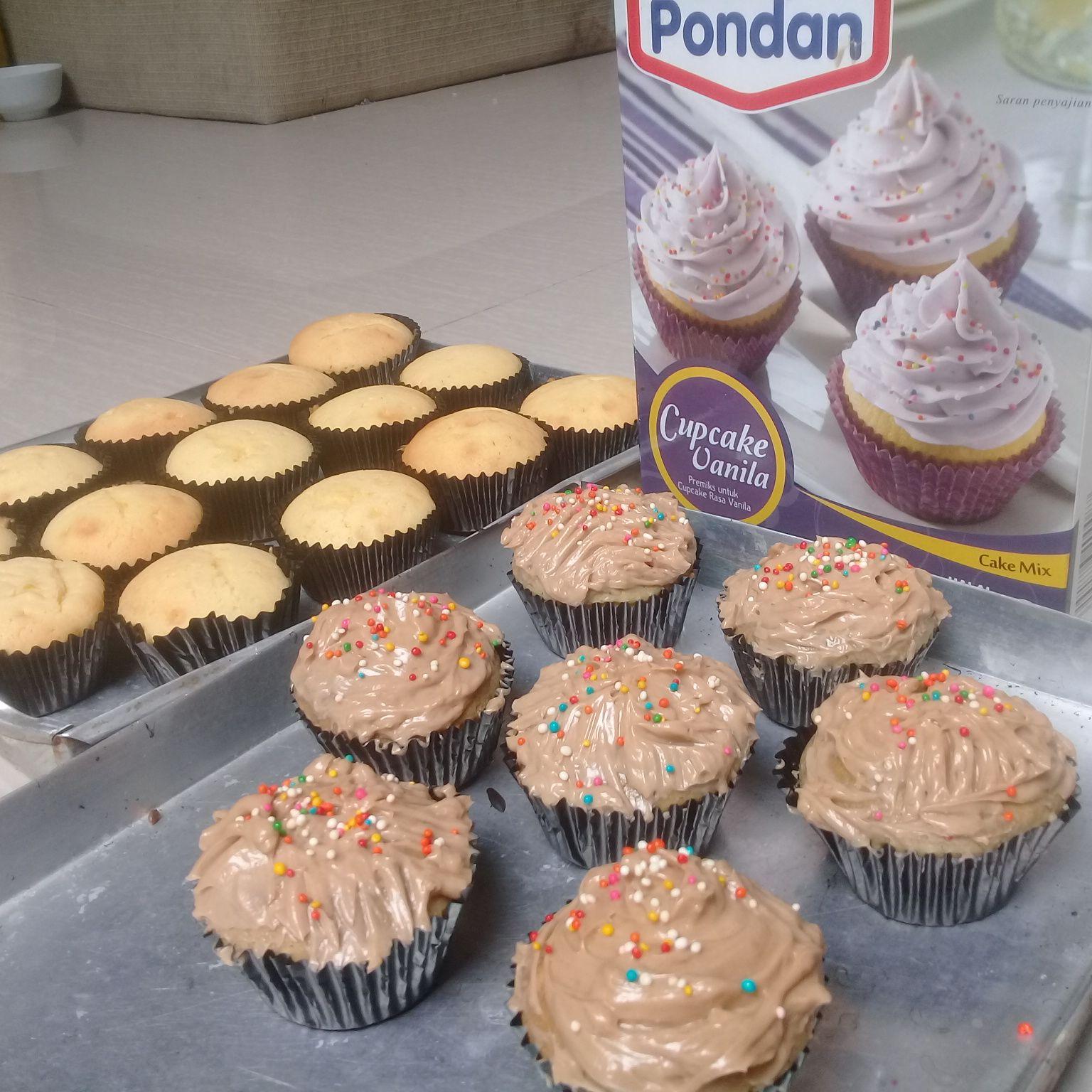 image review Pondan Cupcake