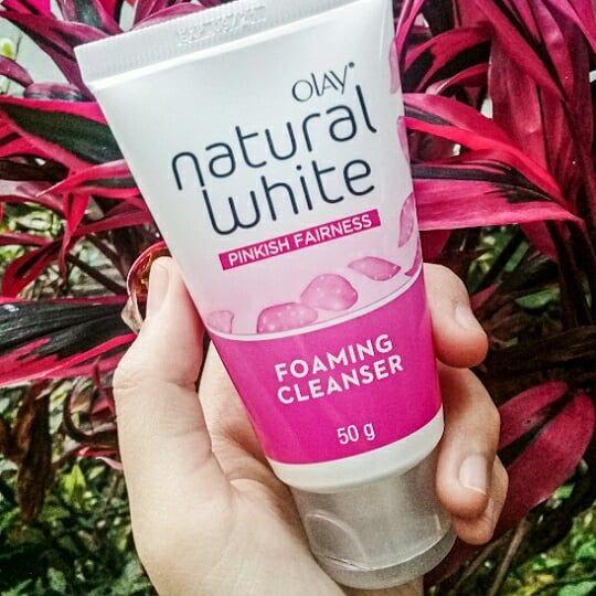 gambar review ke-2 untuk Olay Natural White Foaming Cleanser