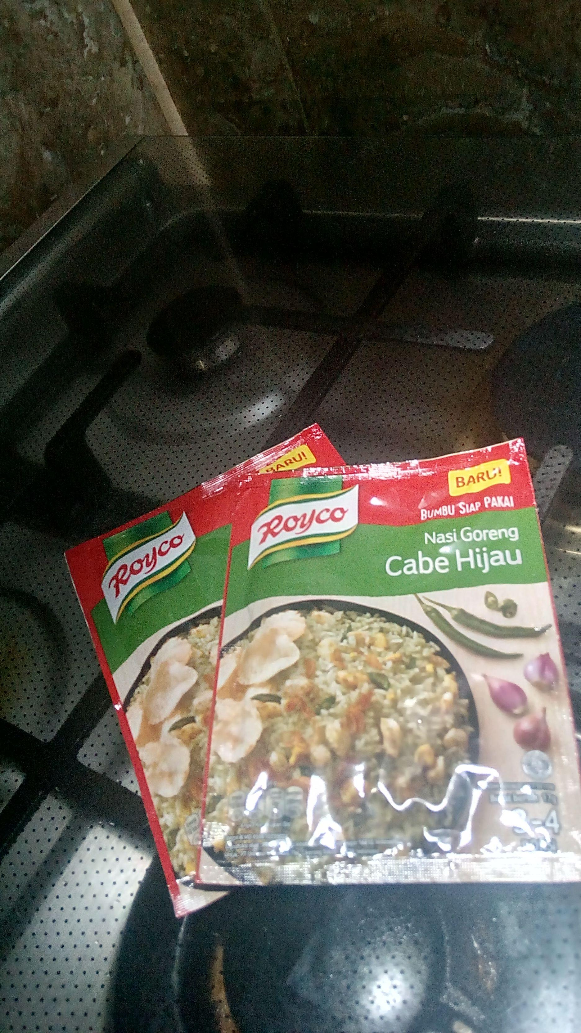 gambar review ke-2 untuk Royco Nasi Goreng Cabe Hijau