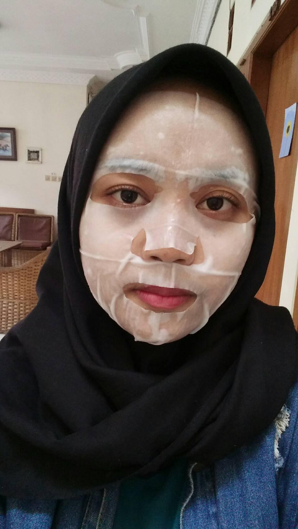 gambar review ke-2 untuk Innisfree Mask - Ginseng
