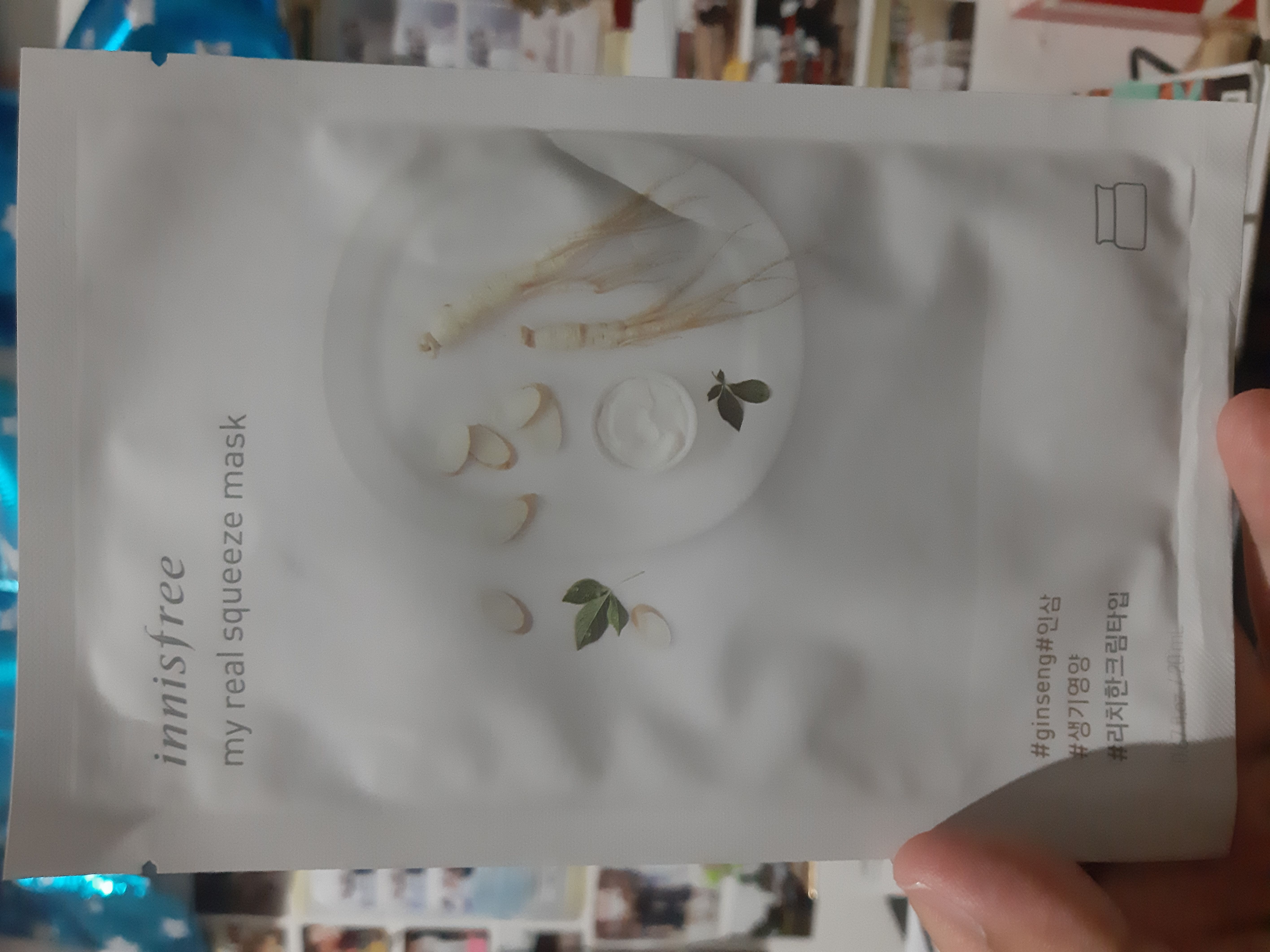 image review Innisfree Mask - Ginseng