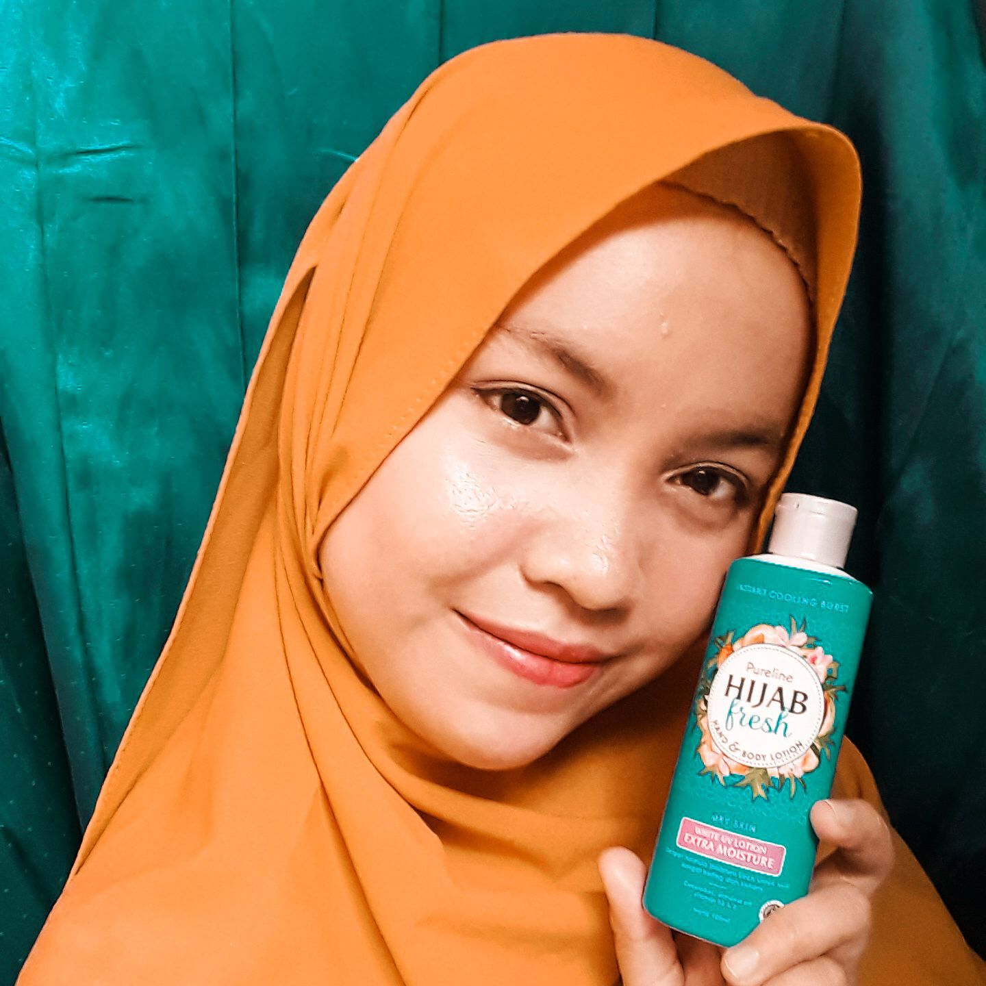 gambar review ke-3 untuk Pureline Hijab Fresh Hand & Body Lotion Healthy & Bright