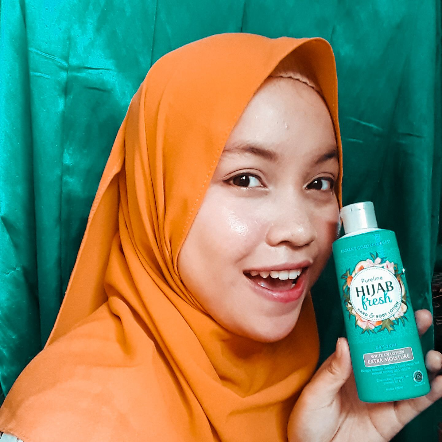 gambar review ke-2 untuk Pureline Hijab Fresh Hand & Body Lotion Healthy & Bright