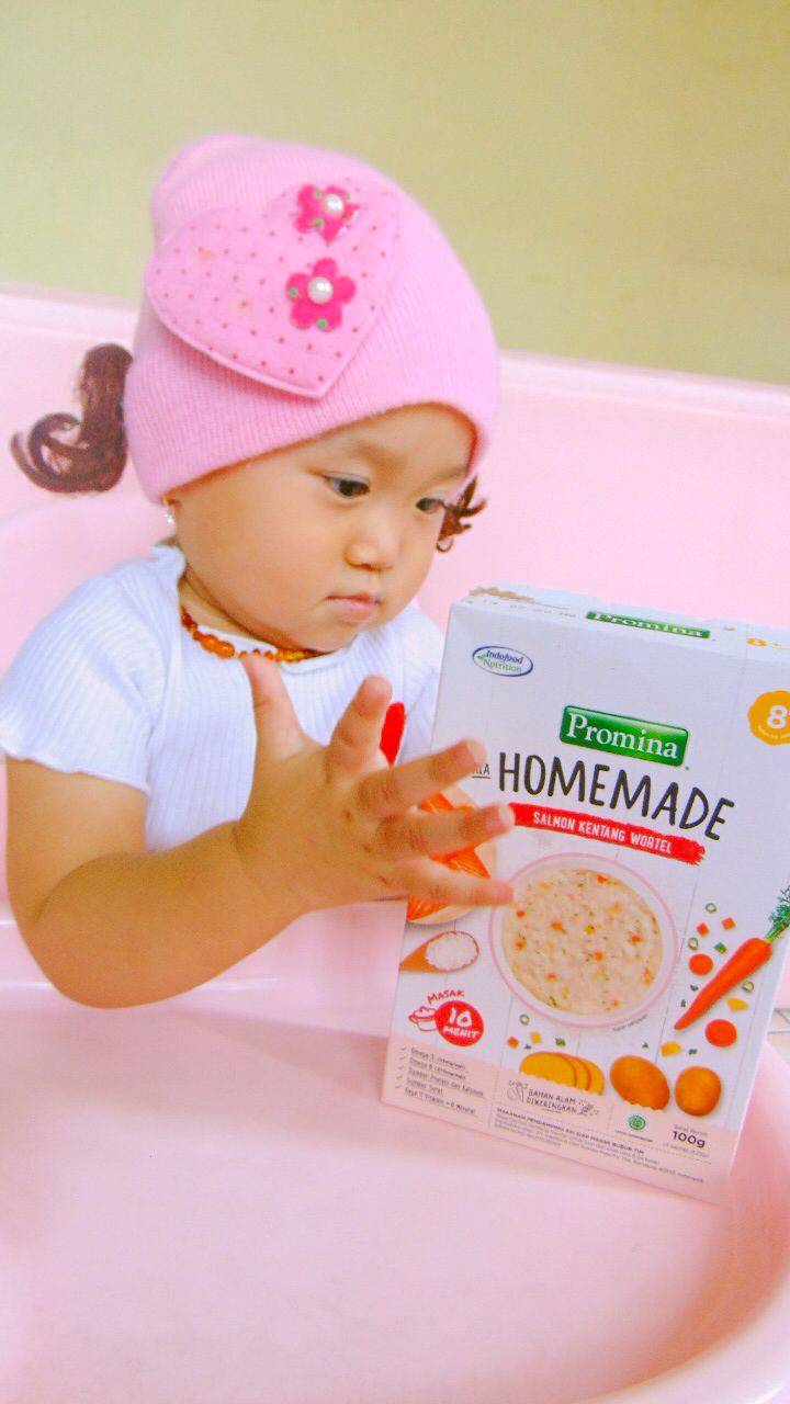 image review Promina Homemade Salmon Kentang Wortel