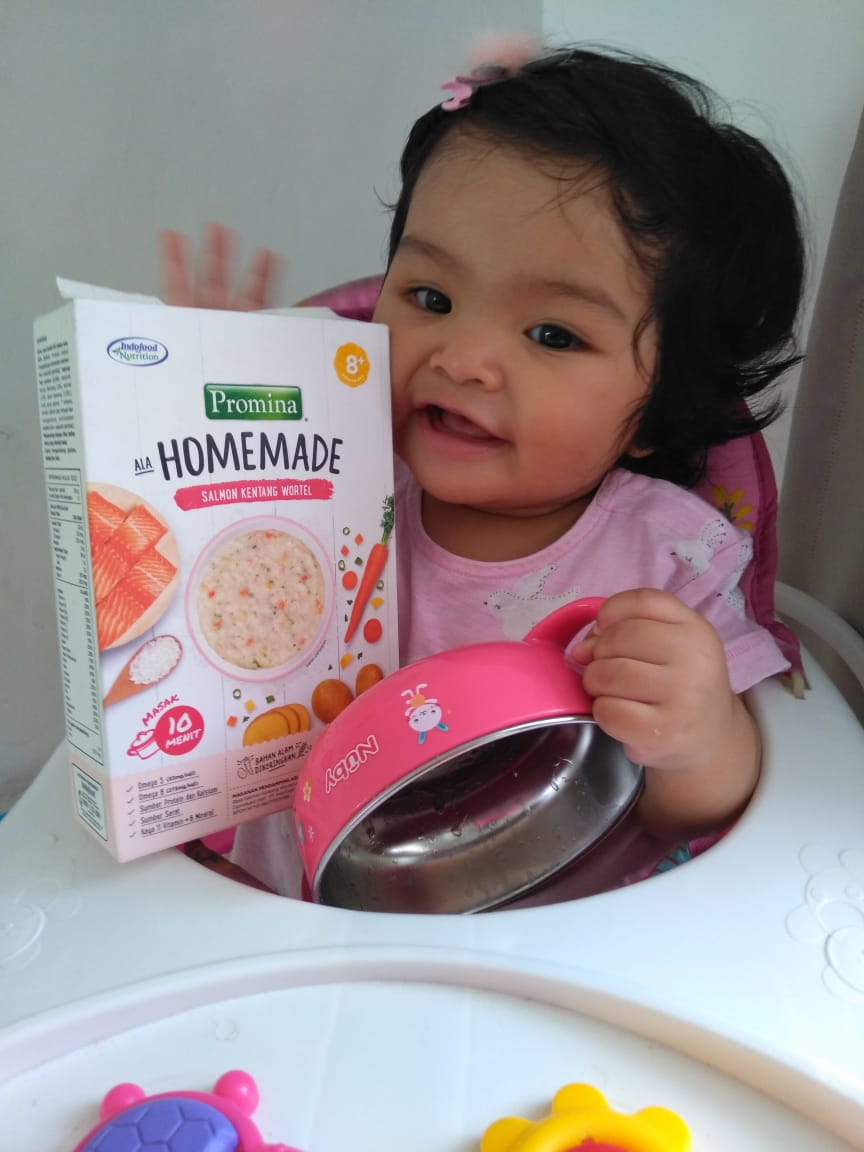 gambar review ke-3 untuk Promina Homemade Salmon Kentang Wortel