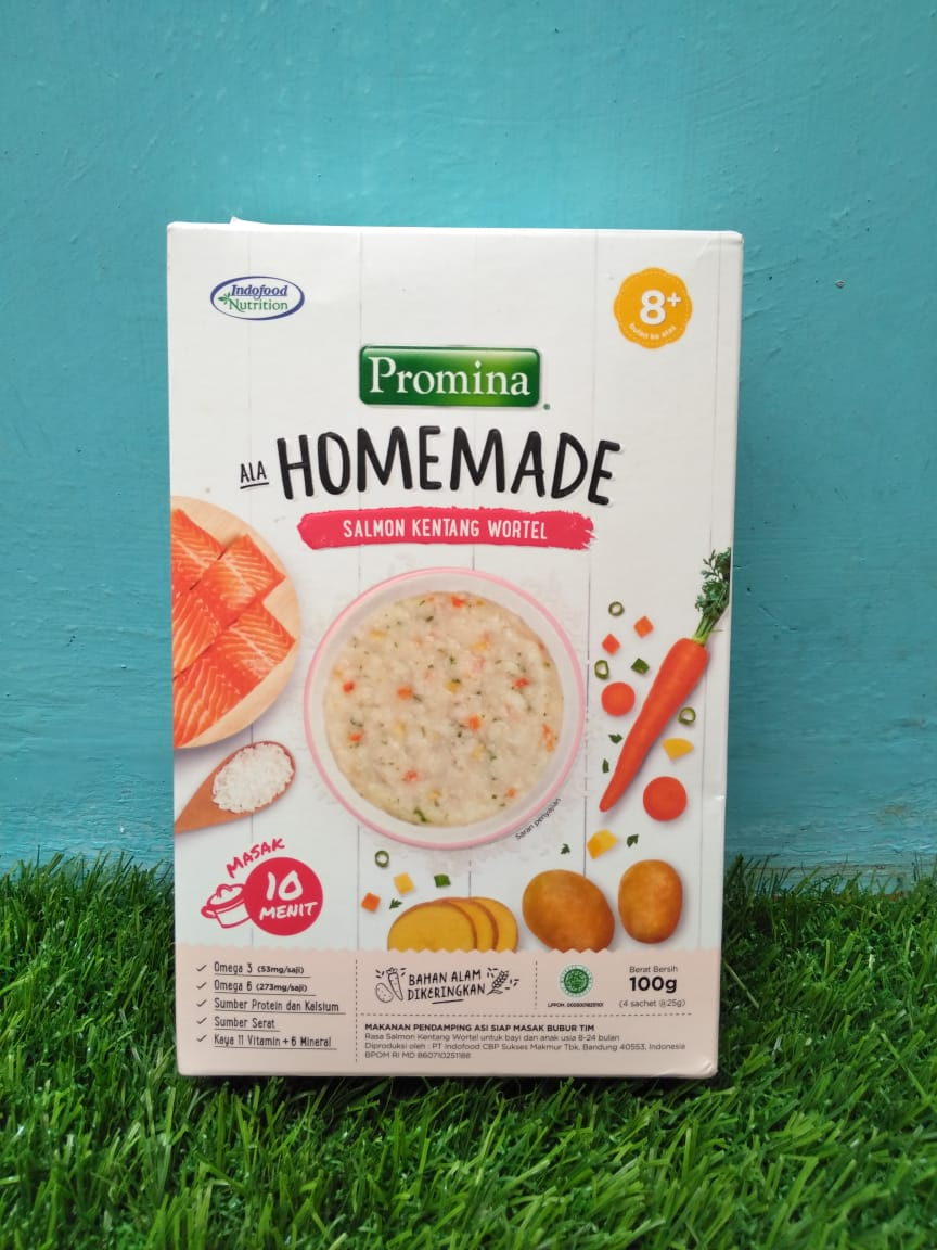 gambar review ke-4 untuk Promina Homemade Salmon Kentang Wortel