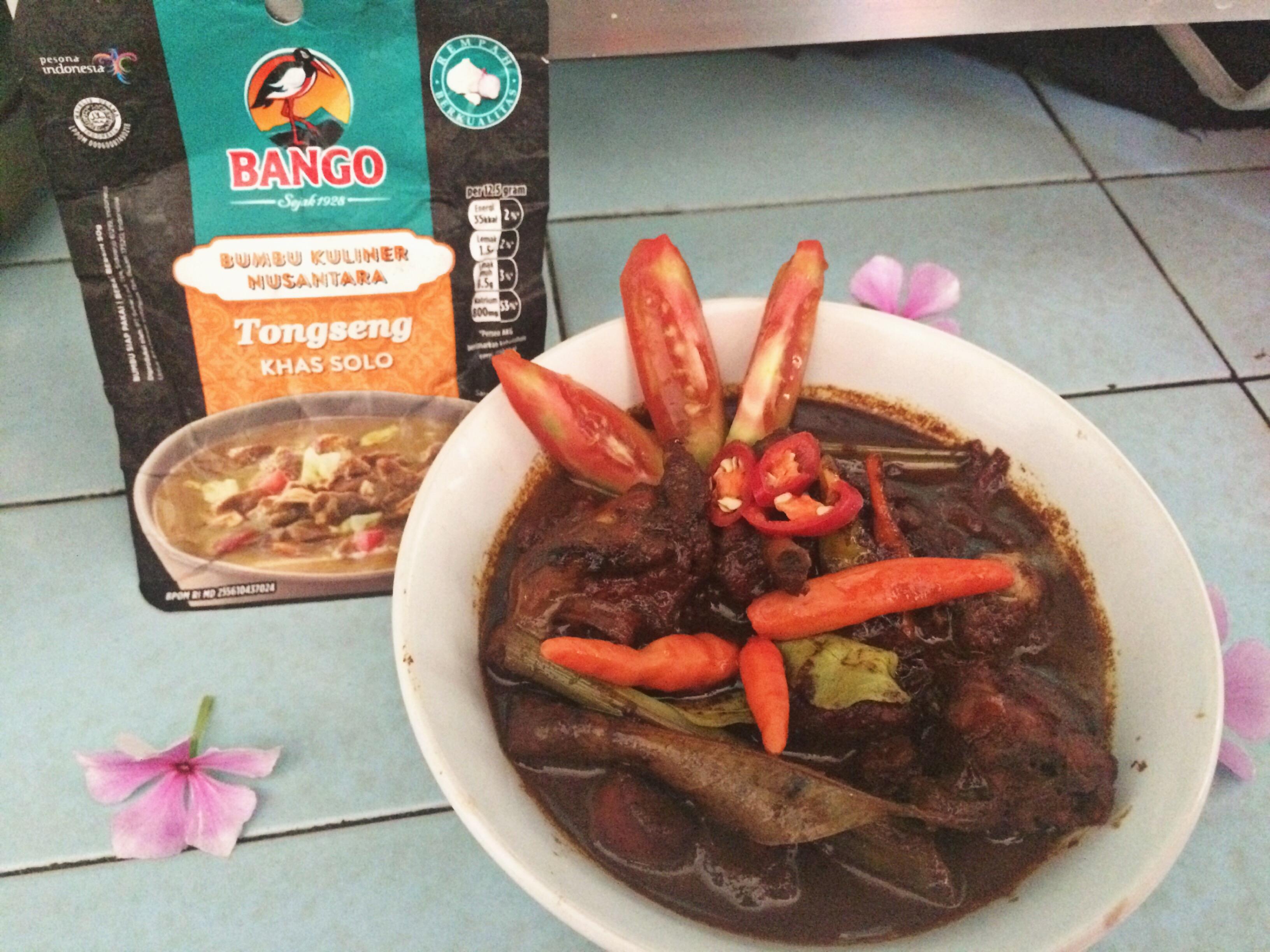 image review Bango Bumbu Kuliner Nusantara - Tongseng