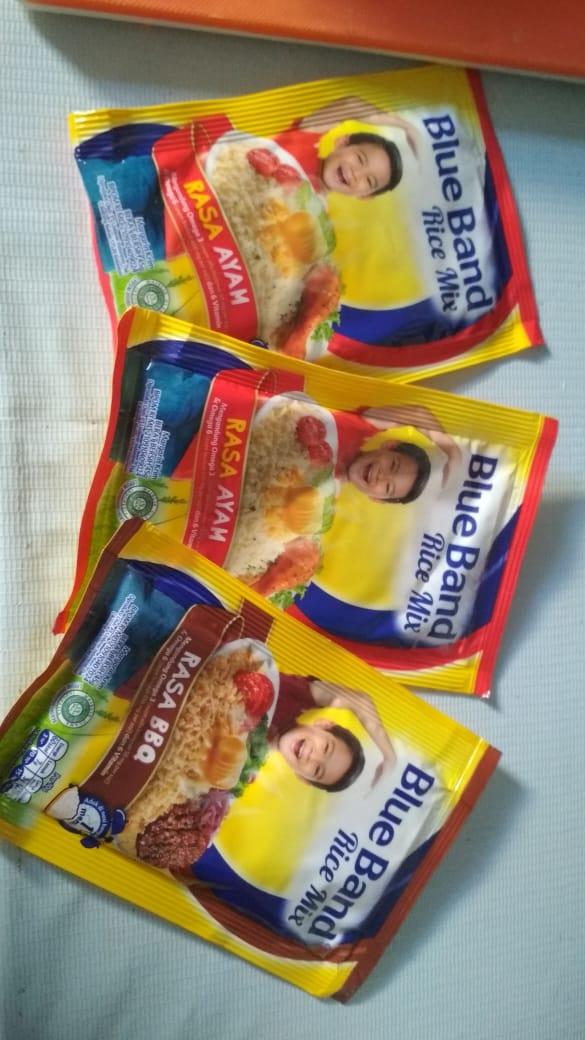 gambar review ke-3 untuk Blue Band Rice Mix Rasa Ayam & BBQ