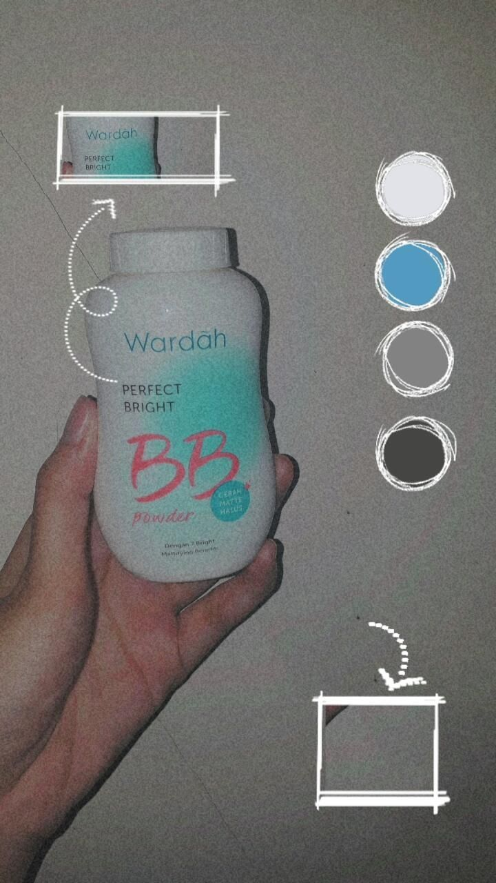 image review Wardah Perfect Bright BB Powder