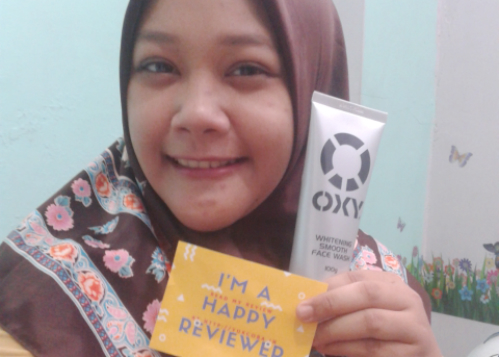 image review Oxy Whitening Smooth Face Wash