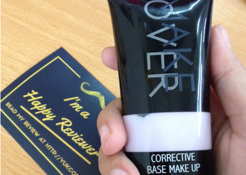 gambar review ke-1 untuk MakeOver Corrective Base Make Up
