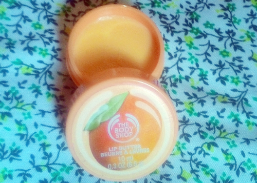 image review The Body Shop Mango Lip Butter