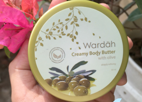 image review Wardah Creamy Body Butter With Olive