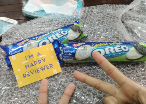 image review Oreo Coconut Delight