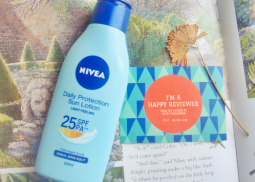 image review Nivea Daily Protection Sun Lotion Light Feeling SPF 25 PA++