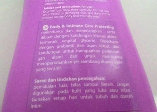 gambar review ke-2 untuk Corine de Farme Body and Intimate Care Protecting