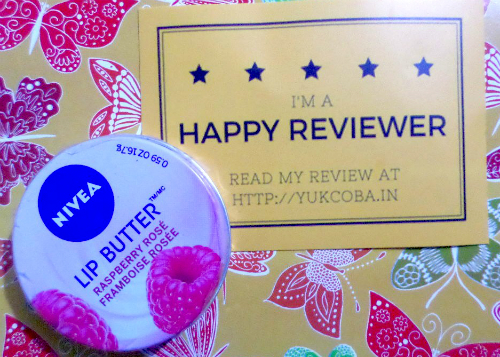 image review Nivea Lip Butter Raspberry Rose