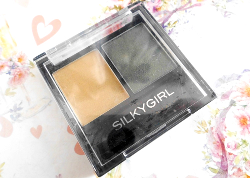 gambar review ke-1 untuk Silky Girl Double Intense Duo Eyeshadow Golden Jade