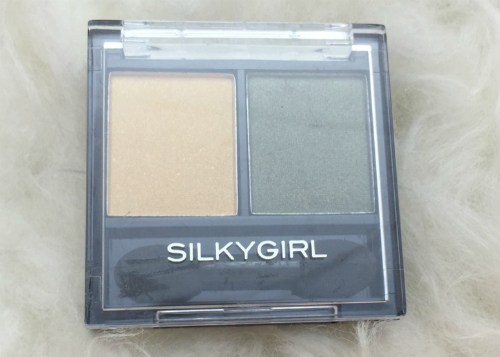 image review Silky Girl Double Intense Duo Eyeshadow Golden Jade