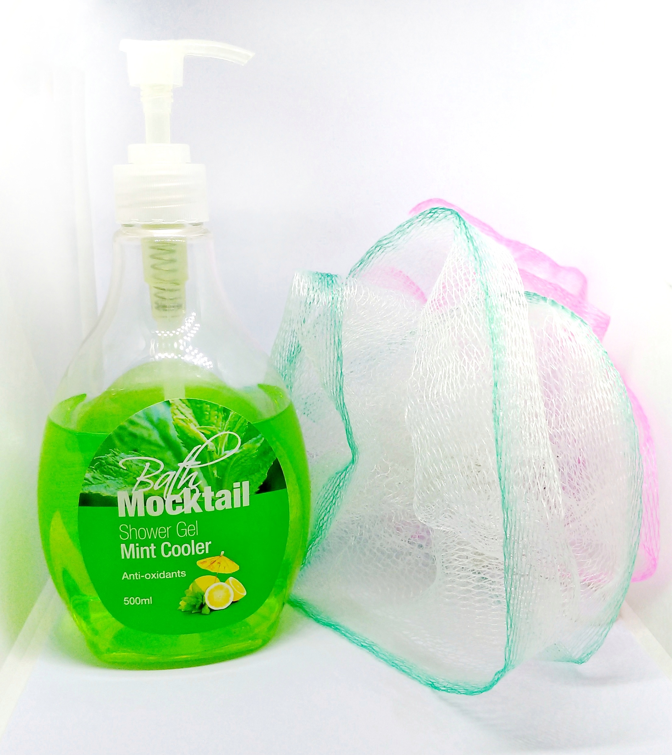 BATH MOCKTAIL Shower Gel Mint Cooler