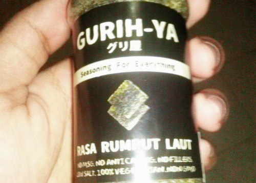 image review Gurih-Ya Seaweed Seasoning