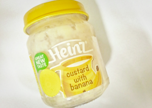 image review Heinz Custard With Banana