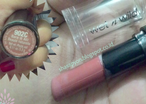 image review Wet n Wild Megalast Lip Color Bare It All