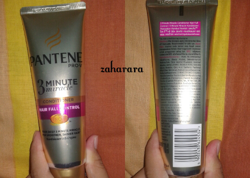 gambar review ke-1 untuk Pantene Conditioner 3 Minutes Miracle Quantum Hair Fall Control