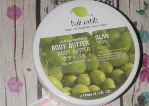 image review Bali Ratih Body Butter Olive