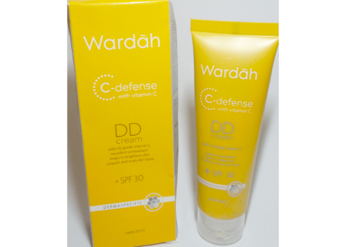 gambar review ke-1 untuk Wardah C-Defense DD Cream Natural