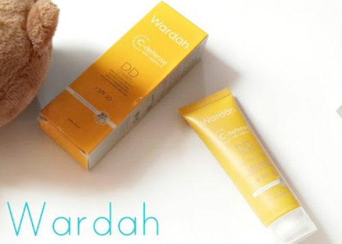 image review Wardah C-Defense DD Cream Natural