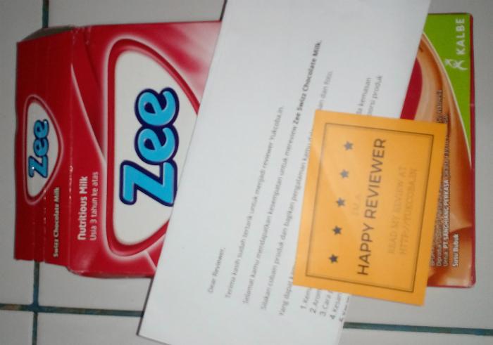image review Zee Swizz Chocolate Milk