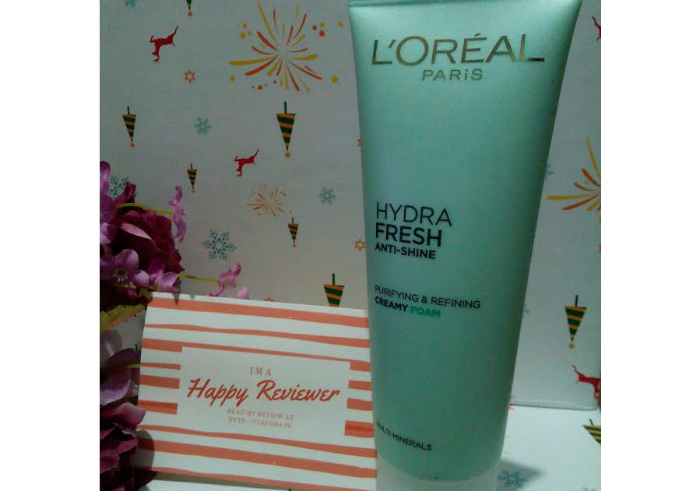 image review L'oreal Paris Hydrafresh Creamy Foam