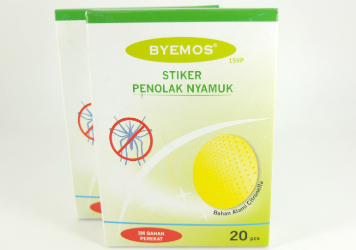gambar review ke-1 untuk Byemos Stiker Penolak Nyamuk