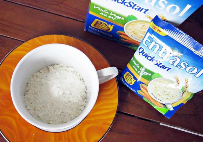 image review Entrasol Quickstart Vanilla Veggie