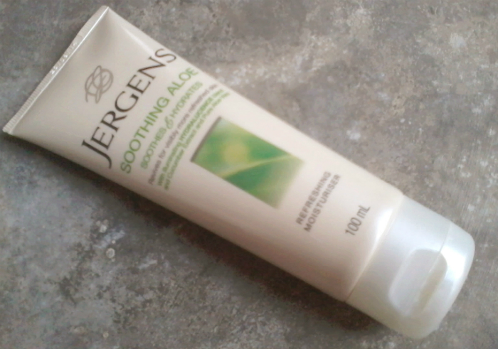 image review Jergens Soothing Aloe Refreshing Moisturiser