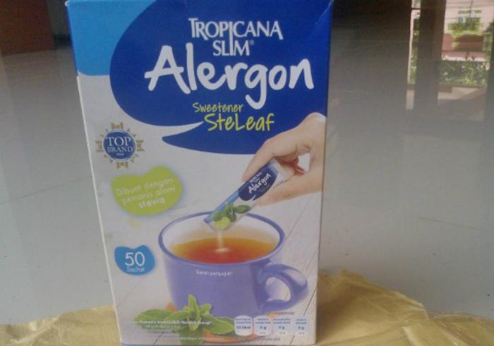 image review Tropicana Slim Alergon Steleaf (Gula Stevia)