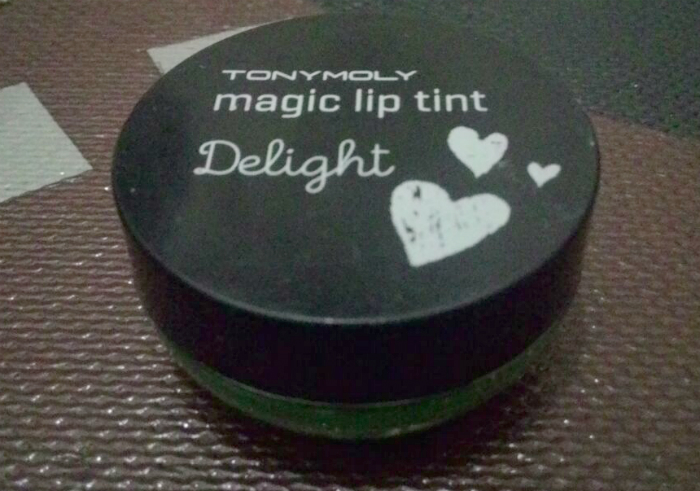 gambar review ke-1 untuk Tony Moly Delight Magic Lip Tint Green Apple